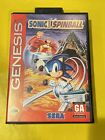 Sonic The Hedgehog Spinball - SEGA Genesis Game CiB - Early Print / Authentic*