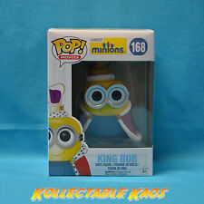 Funko Minions Movie - King Bob Pop Vinyl Figure