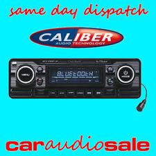 CALIBER RCD120BT/B Clásico Retro Estéreo del Coche Van Bluetooth CD MP3 USB AUX Radio