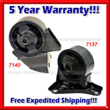 K598 For 2005-10 Hyundai Tucson / Kia Sportage 2.7L Front & Rear Motor Mount 2pc