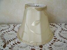 """Clip On Chandelier lamp Shade 3""""x6""""x5"""" -  Cream Beige"""