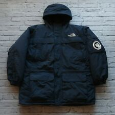 Vintage North Face Antarctica McMurdo Station Down Parka Jacket Navy Blue