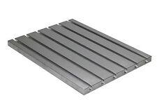 ALLUMINIO con asola a T PIASTRA 700x500 mm per CNC fresatrice Macchina, frame,t-nuts