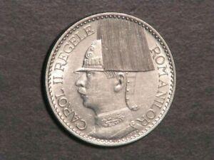 ROMANIA 1938 50 Lei AU-UNC