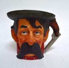 Vintage Grossman Rockwell Porcelain Saturday Evening Post Cowboy Head Mug 1978