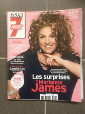 TELE 7 JOURS N 3027 02/06/2018 MARIANNE JAMES   F85