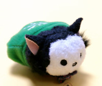 "Disney TSUM TSUM Micro Black Cat Mini Soft Plush Toys Screen Cleaner 2.4""/6cm"
