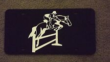 New Equestrian Jumper Licence Plate