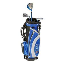 Tiger Plus Junior Golf Club Package Set Bag 4 - 7 Years Blue UK Post