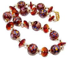 Modeschmuck-Halsketten & -Anhänger aus Glas