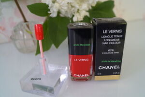 """CHANEL 626  """"EXQUISITE PINK  """" Nail Polish   Boîte  Box    NEUF/NEW   SOLD OUT"""