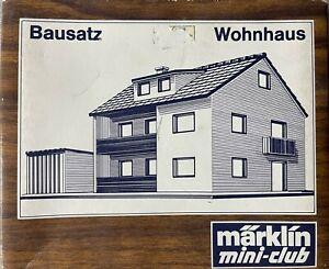 Marklin Mini-club Z-Scale 8964 Model Kit (House Kit)