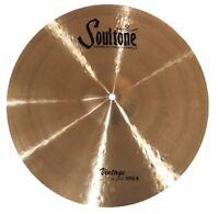Soultone Cymbals CBRRA-HHT16-16 Custom Brilliant RA Hi Hats Pair