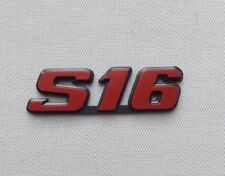 NEUF MONOGRAMME S16 pour PEUGEOT 106 ou 306 LOGOS REPRODUCTION CONFORME NEW 48H