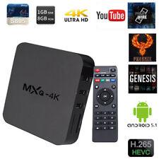 2018 Neu MXQ-4K Pro H.265 Quad Core Smart Android TV BOX Streaming Media Player