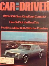 Car And Driver Magazine BMW 530i Test King Kong Comp July 1975 110417nonrh