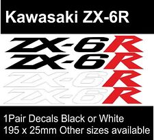Bici del motor KAWASAKI ZX-6R | Decal Sticker Gráfico | 1 | Par BB201
