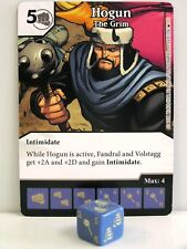 Dice Masters - 2x #026 Hogun The Grim-The Mighty Thor
