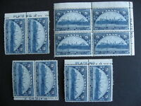 CANADA Sc 202 10 MNH stamps most plate margins 3 have dings/creases, check pics