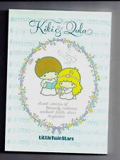 Sanrio Little Twin Stars Kiki & Lala Notepad