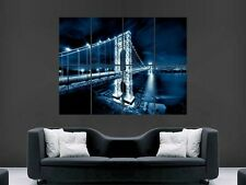 GEORGE WASHINGTON BRIDGE NEW YORK USA  GIANT WALL POSTER ART PICTURE PRINT