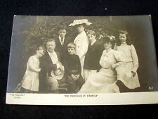 OLD REAL PHOTOPC~THE ROOSEVELT FAMILY~PACH BROS~ca 1903