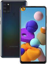 Samsung Galaxy A21 32GB Black Unlocked 6.5 in Display A215U Android Smartphone