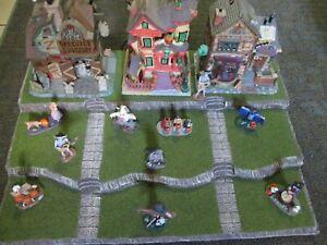 Halloween Village Display Platform Base H52 For Lemax Dept 56 Dickens + More