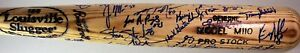 2000 Potomac Cannons Autographed Team Game Used Bat with Jose Albert Pujols #21