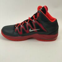Nike Mens Air Max Stutter Step Basketball Shoes Black Red 621327-001 Mid Top 11