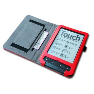 High quality Leather Case Cover For pocketbook Touch Lux 3 Reader with hand hold