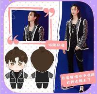 The Untamed 王一博 Wang Yibo Plush Doll Stuffed Clothing Toy Countdown Dress Up