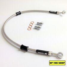 KAWASAKI KLX650 1993-96 VENHILL s/steel braided brake line hose REAR