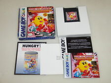 BOXED NINTENDO GAMEBOY VIDEO GAME MS PACMAN SPECIAL COLOR EDITION COMPLETE CIB