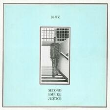 Blitz - Second Empire Justice LP - Vinyl Album SEALED New Wave Post Punk Record