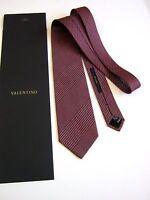 Valentino New Tailoring Sartorial Silk Original Made IN Italy