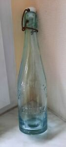 alte Bierflasche Wasserflasche  Julius Reimann Görlitz-sehr selten!!
