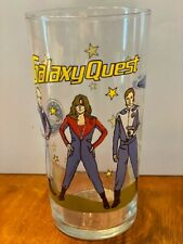 Rare Vintage Galaxy Quest Movie Promo Glass Sigourney Weaver Alan Rickman Sci-fi