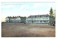 Postcard WA Seattle Soldiers Fort Lawton Barracks AYPE Card RPPC c1907 FREE SHIP