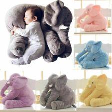 Kinder Baby Elefant Kissen Stofftier Kuscheltier Spielzeug Geburtstag Geschenk -