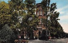 BILOXI, MI Mississippi   CHURCH OF THE NATIVITY OF BVM    c1940's Linen Postcard