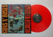 Guns N' Roses ‎– Appetite For Destruction RED VINYL LP coloured.