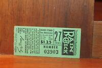1951 Cincinnati Reds Ticket Stub 06-20-1951 vs Brooklyn Dodgers
