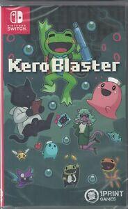 Kero Blaster Launch Edition Nintendo Switch [Audio CD Included, Region Free] NEW