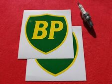"Pair of 4"" BP Stickers British Petroleum"