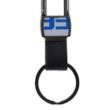 Mens Fashion Business Style Keychain Metal Auto Keychain Men Gift Black Jian
