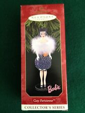 Hallmark Barbie Gay Parisienne  Series #6  1999