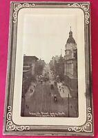 Postcard, 1912 Granville Street Vancouver B.C. Canada Vintage P38