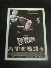 ED WOOD, film card [Tim Burton, Johnny Depp, Martin Landau]