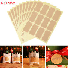 Tags Cake Decoration Labels Stickers Blank Tag Paper Sticky Packaging Seals